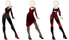 Fashion Adoptables 2 - CLOSED by Karijn-s-Basement on DeviantArt