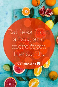 SO TRUE! Eating healthy, natural foods that grow in the ground will help you burn fat, lose weight, and feel your best! Check out our blog on 25 health foods and their benefits!
