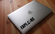 Explore MacBook Decal Adventure Decal Car Sticker Explore