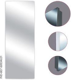 INDIVI - płaska, lustrzana powierzchnia to idealny pomysł na optyczne powiększenie pomieszczenia.