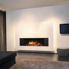 Hogar Luna 1300 H Gold PLus +, La máxima visión del fuego , con la mayor seguridad , eficacia y diseño. Posibilidad de canalización aire a otros espacios.