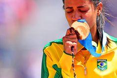 Com apenas um ouro, atletismo do Brasil esbarra em Pan ''mais forte'' #globoesporte