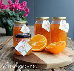 I like Orange Marmalade. It was the first preserve/jam I ever made and it remains one of my favourites. On a warm scone, with some clotted cream...Mmmmmm