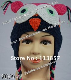 Free shipping (50/lot) 100% cotton crochet baby hat,promotional ...