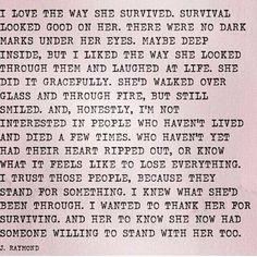 I want someone to feel this way about me....