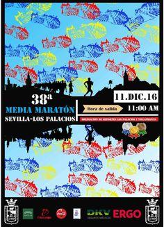 Abierto el plazo de Inscripción para participar en la 38 Media Maratón Sevilla-Los Palacios y Villafranca
