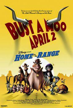 Os posters das animações da Disney
