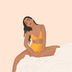 Woman Illustration, Portrait Illustration, Art Illustrations, Fashion Illustrations, Feminist Art, Portrait Art, Aesthetic Art, Art Girl, Art Inspo