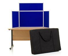 Landscape 3 Panel Tabletop Display Board And Header.
