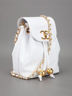 vintage logo bag | Chanel