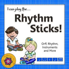 Fun song, rhythm activities and Orff arrangement for any elementary music class while adding the non-pitched percussion instrument - rhythm sticks! Excellent music education resource!