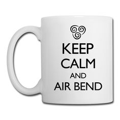 Keep Calm and Air Bend VECTOR Gift | Spreadshirt | ID: 10093635