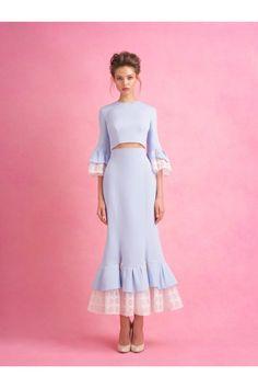 Ulyana Sergeenko #VogueRussia #couture #springsummer2018 #UlyanaSergeenko #VogueCollections