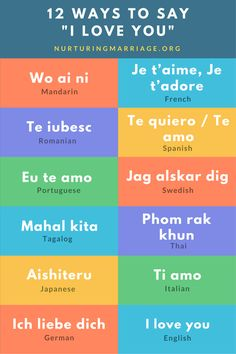 how to write love in different languages