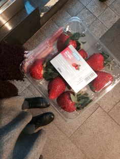 Strawberry snack