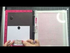 GlitterAngel Art: Mirror Stamping using the MISTI stamping tool