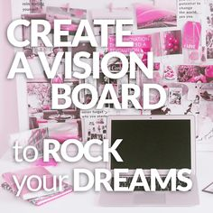Create a Vision Board to Rock Your Dreams.   The How, the Why, and the Oh-My-Magic-Happened!  VeganSparkles.com