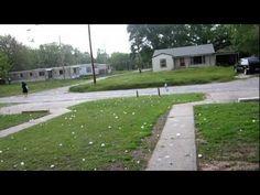 04-09-12 Woodward, Ok Hail Storm Baseball Size #NBD