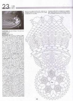 créations crochet: chemin de table