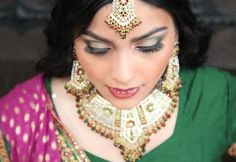 Cinderella Bridez - Indian wedding makeup