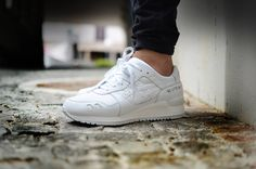 "Asics Gel Lyte III ""Pure Pack"" available at www.the-upper-club.com"