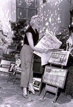 Marilyn Monroe #newsstand #newspaper