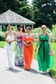 Colorful line up of lovelies...Photography by Erik Ekroth / erikekroth.com