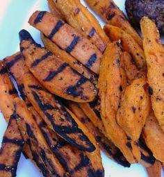 Soooo tasty sweet potato fries - great snack before dinner