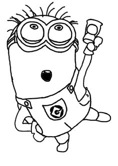 minion png coloring page printable coloring pages sheets for kids get the latest free minion png coloring page images favorite coloring pages to print - Despicable Coloring Pages Dave