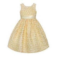 Princess Faith Petal Dress Baby Girls Dresses Toddler