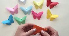papír pillangók