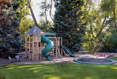 This backyard is a kid's dream come true.