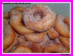 Golosona: Ciambelle con fiocchi di patate