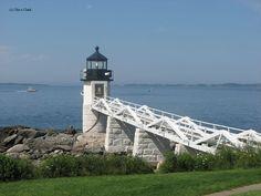 u.s. lighthouses   Marshall Point Lighthouse - Port Clyde, Maine @ US-Lighthouses.com