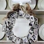 Projects - use wedding place card holders.  What a way to highlight the family.