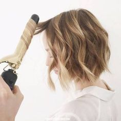 the beauty department short hair waves