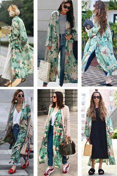 Spring Kimono Outfit Inspo