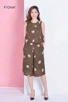 Bộ đẹp Thai Fashion, Diy Fashion, Fashion Dresses, Stylish Dresses, Simple Dresses, Cute Dresses, Girls Night Dress, Baby Dress Design, Indian Fashion Trends