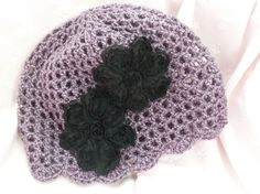 Dusty Lilac with silver sparkle and 2 black by grandmalucy2009, $20.00