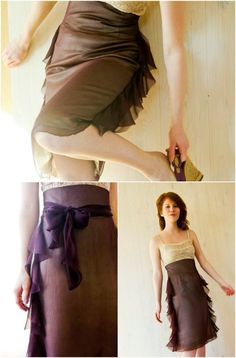 DIY Favourite Frills Skirt Step by Step Instructions - Top 15 Summer Ready DIY Skirts With Free Patterns and Instructions