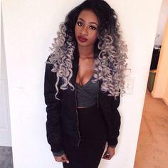 silver hair, platinum hair, black women inspiration, hairstyle, curly hair