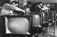 Fábrica de televisores CAPEHART, ubicada en San Isidro (Buenos Aires), 1957.