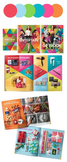 strong holiday campaign palettes: Target