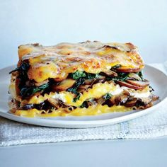 7 Delicious Things You Need to Cook in March: Vegetable Lasagna with Butternut Béchamel Recipe | CookingLight.com