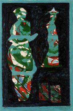 Blue and green by Eileen Agar