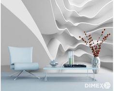 Fototapeta na stenu - 3D vlna 330 x 220 cm | DIMEX