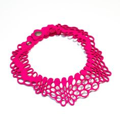 Radial Necklace II pink. $66.00, via Etsy.