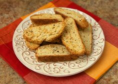 Pecorino Cheese & Black Pepper Biscotti Recipe (Italian Food Forever)