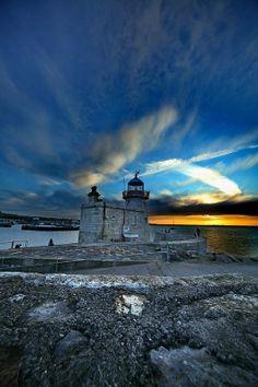 Ireland Lighthouses | Howth Lighthouse, Ireland