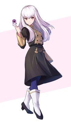Gothic Anime, Anime Fantasy, Fantasy World, Oc Manga, Chica Anime Manga, Anime Art, Anime Angel Girl, Anime Girl Cute, Character Concept